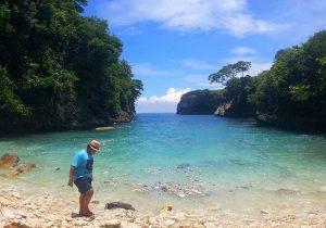 Pantai Bulian nusa-penida