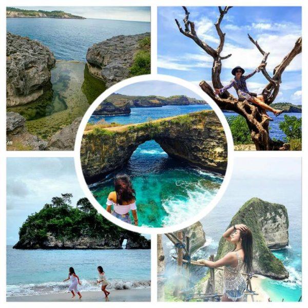 Pilihan Pantai Menarik Di Nusa Penida